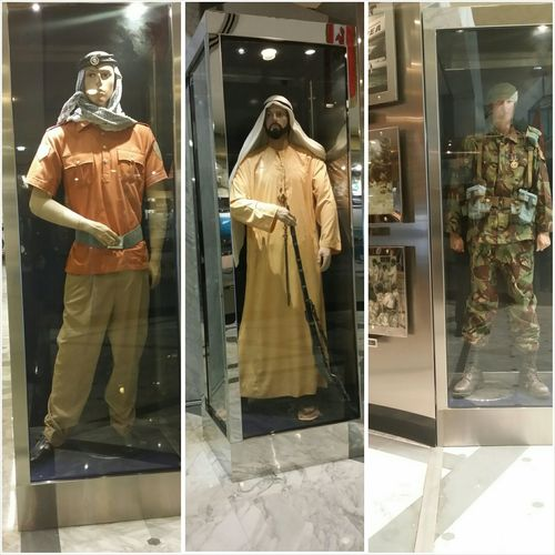 Uae,abudhabi Armed Forces Officers Club Traditional Costume Men In Uniform Ancient Culture