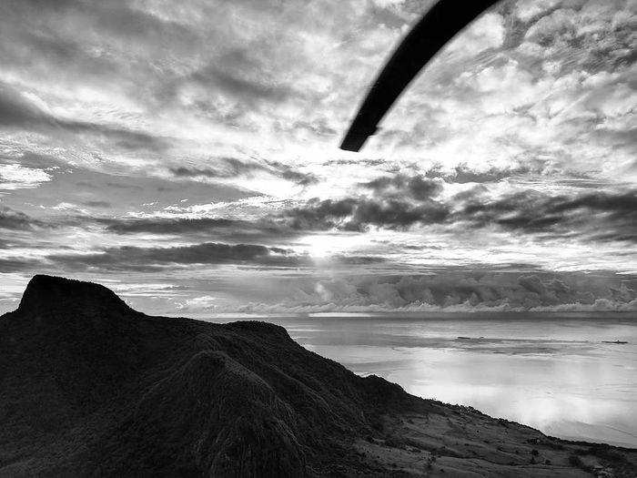 Mountain, sea