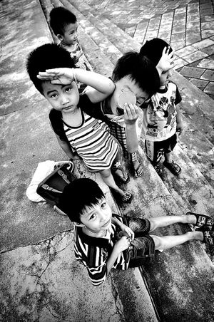 The Human Condition Children Playing Countryside Asian  Hometown Memories Chilhood Smile Hello World Peace And Love Happiness ♡ Innocent Face