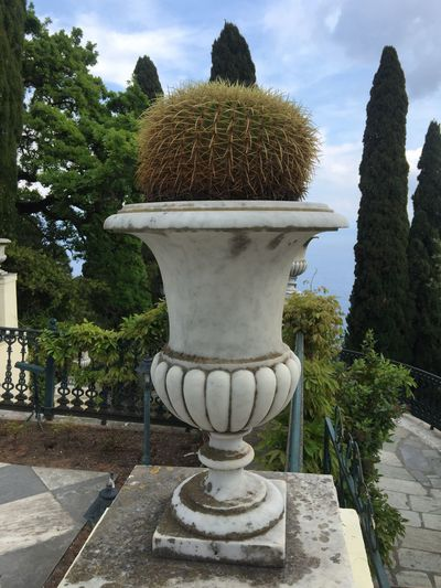 Achilleion palace on Corfu. (10) Greece Photos CorfuIsland Outdoors Plant Travel Destinations