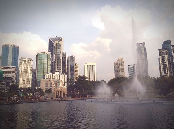 Evening Light sitting by the Lakeside drifting away thoughts.. Something Beautiful about Kuala Lumpur Malaysia  Htcm8 Beautyiseverywhere Beautyisintheeyeofthebeholder so true..