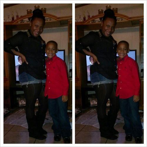 Me & My Lil Man !