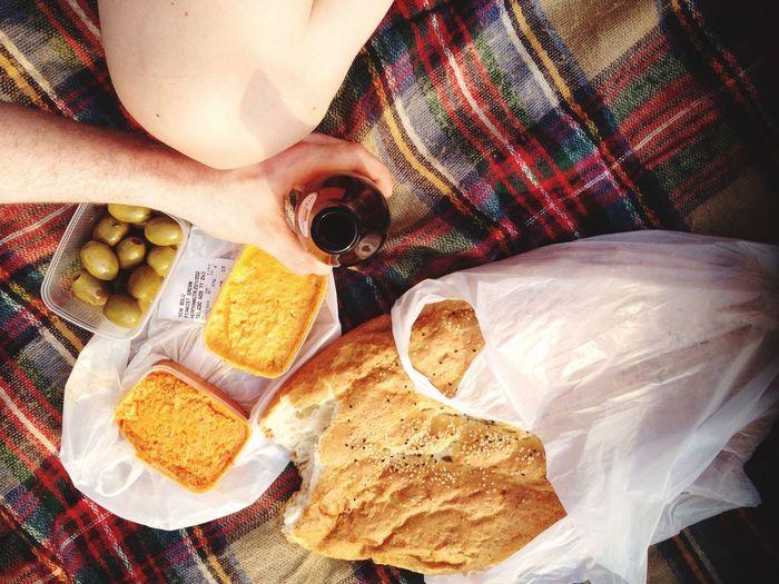 Picnicking Food