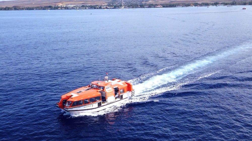 Cruise Lifeboat Taking Photos IPhone5 Nautical