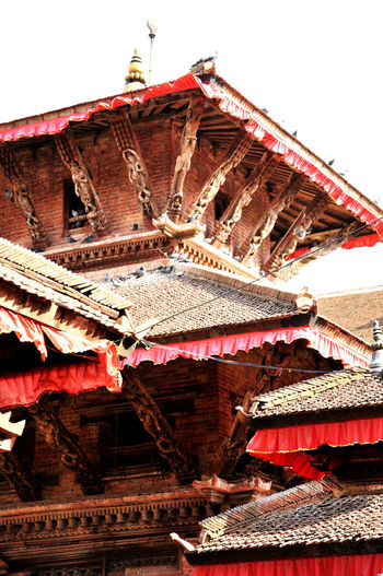 Katmandhu Nepal Architecture Belief Building Exterior Built Structure Low Angle View Nature Nel No People Place Of Worship Spirituality The Past Travel Destinations