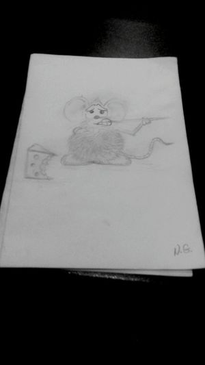 Minnie Mouse Lovelypic Drawing Cheese