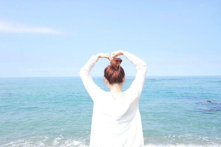 Beach Time Heart ❤ That's Me