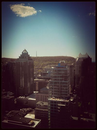 View from NEUF ARCHITECT(E)S - #PODMTL2013 Architecture Canada Buildings North America