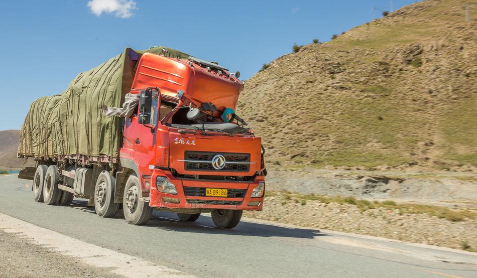 Funny Accident Broken China Mode Of Transport Red Road Transportation Travel Destinations Truck