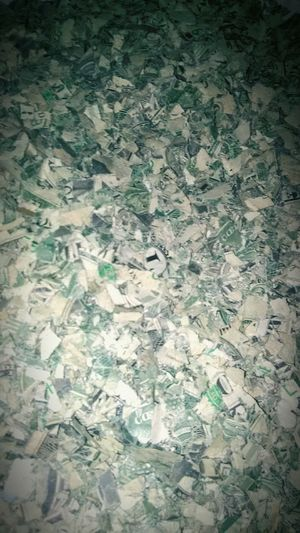 Shredded Money A Million Dollar Cry.. Full Frame EyeEmNewHere Lost Cause Useless Money