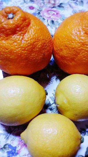 広島からお取り寄せ☆レモン&デコポン(^^)/花粉症対策。 Fruits Lemon Decopon Fresh Fruits