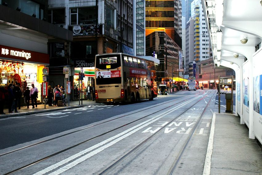2015 Life In Hong Kong · Central Urban Nature Life In Hong Kong Urban HongKong Transport Streetphotography Tram Walking Around