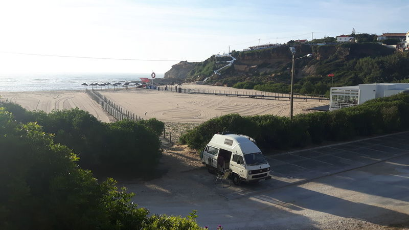 Water Beach Sea Outdoors Day People Nature Sky Homeiswhereyouparkit Portugal 🇵🇹 Volkswagenbus Vacations Roadtrip Van Life Eat Sleep Surf Summer Portugal Men Travel Destinations Adult Nature Transportation