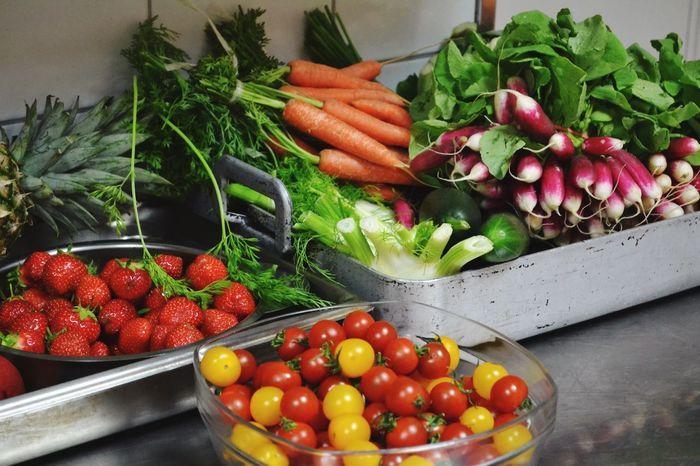 Food Porn Awards Food Summer Fraise Carottes Tomate Just simple food.