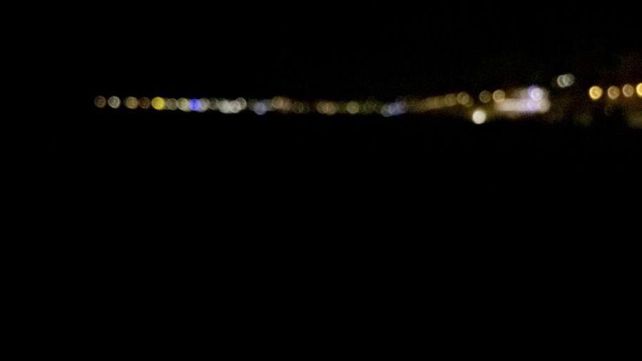 Night Blurry Defocused Black Background No People Light