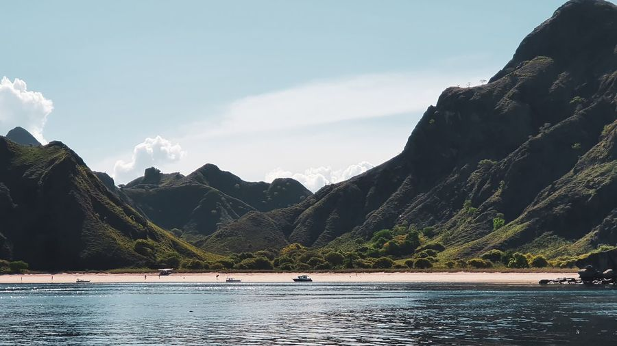 Pink beach, komodo islands