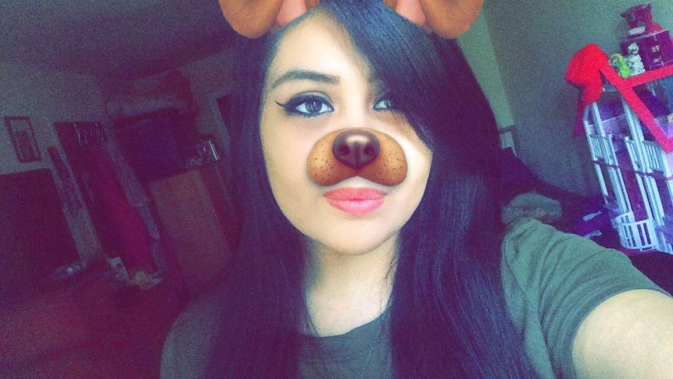 Snapchat Selfie ✌ Snapchat Me Add Me On Snapchat Ask Me Don't Forget Kik Me :) Snap Me Kik Makeup Bored Followme Love This Filter That Glow Eyebrows On Fleek Smile