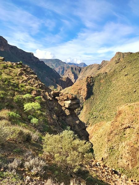 Gran Canaria Mountains Valley Artenara Mountain Nature Landscape Physical Geography Scenics Tranquility Beauty In Nature Geology Tranquil Scene Day Sky Mountain Range No People Outdoors