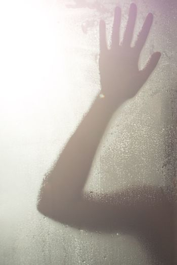 Blackandwhite Photorhythm Light And Shadow Hand