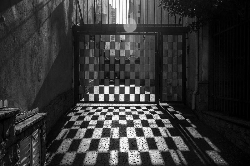 One day last week walking early morning in São Paulo Shades Of Grey I saw this drawing made by light of the sun crossing this gate, what a shadow! Creative Light And Shadow The Street Photographer - 2015 EyeEm Awards My Smartphone Life The Moment - 2015 EyeEm Awards The Fashionist - 2015 EyeEm Awards Shadows The Architect - 2015 EyeEm Awards The Photojournalist - 2015 EyeEm Awards Learn & Shoot: Simplicity B&w Street Photography Q quite Your Design Story The City Light Welcome To Black The Secret Spaces Resist