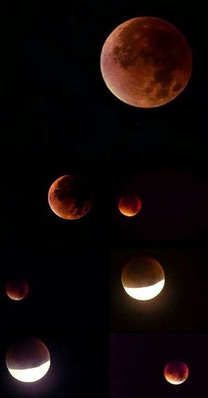 My Super Blood Moon Collage, taken using my Nikon L810 bridge camera. Not been on EyeEm much because of health issues but I'm on the mend and hopefully will start to be able to get back out with the camera and get back to a normal way of life. Ladyphotographerofthemonth Enjoying Nature Look Up And Thrive Streamzoofamily Sky Porn Taking Photos Check This Out EyeEm Nature Lover