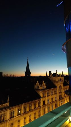 Architecture Budapest Hungary Moon Night Nightphotography Sky Travel Destinations EyeEmNewHere