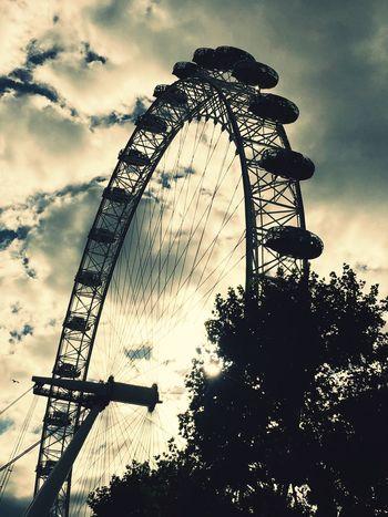 LondonEye LONDON❤ Sundown...♥ Eveningchill Beuatiful Photo London Lifestyle