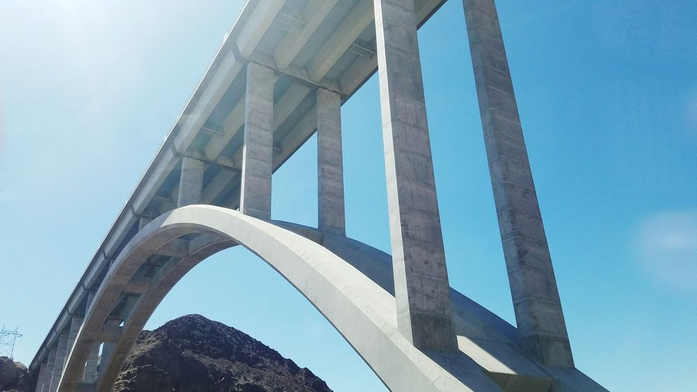 Bridge - Man Made Structure Architecture Low Angle View Day Sky