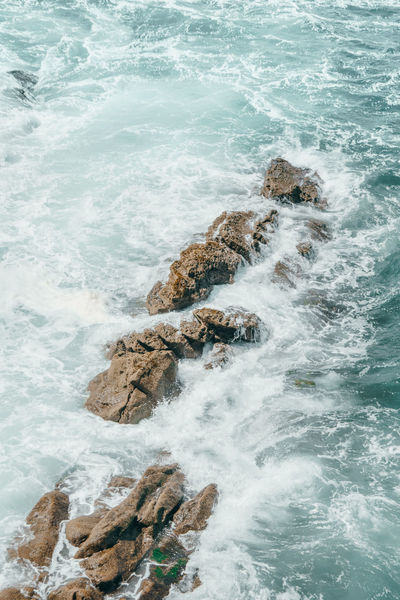 The Great Outdoors - 2018 EyeEm Awards Aquatic Sport Beach Beauty In Nature Blurred Motion Breaking Day Flowing Water Hitting Land Motion Nature Outdoors Power In Nature Rock Rock - Object Rocky Coastline Scenics - Nature Sea Solid Sport Surfing Water Wave