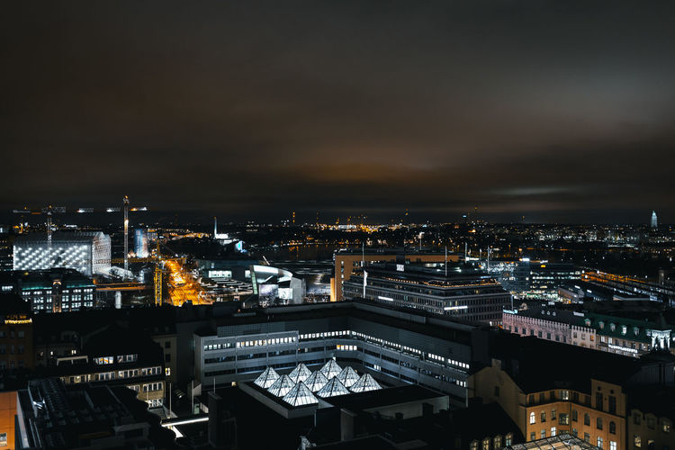 Helsinki Cityscape Night City Architecture Urban Skyline Eyemphotography No People