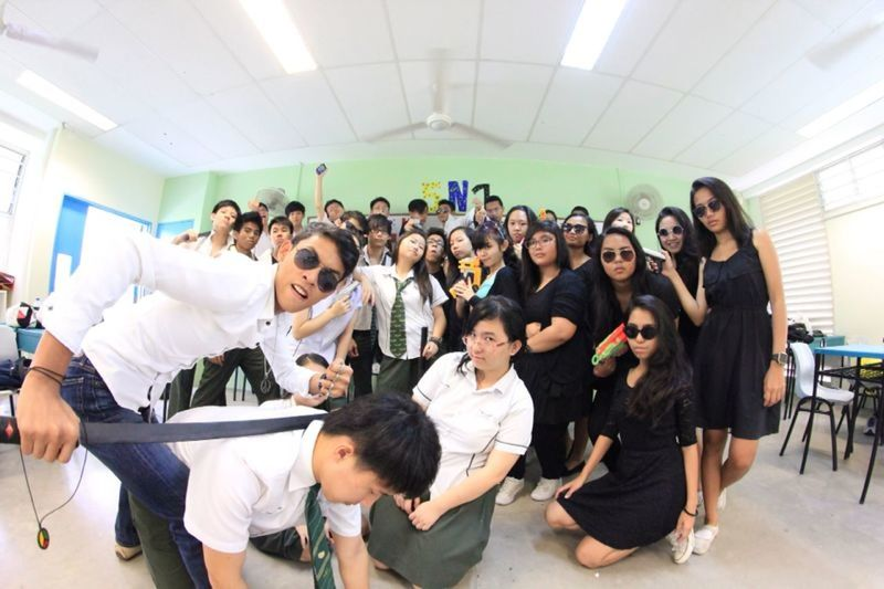 Mafia  Class Photo Fun