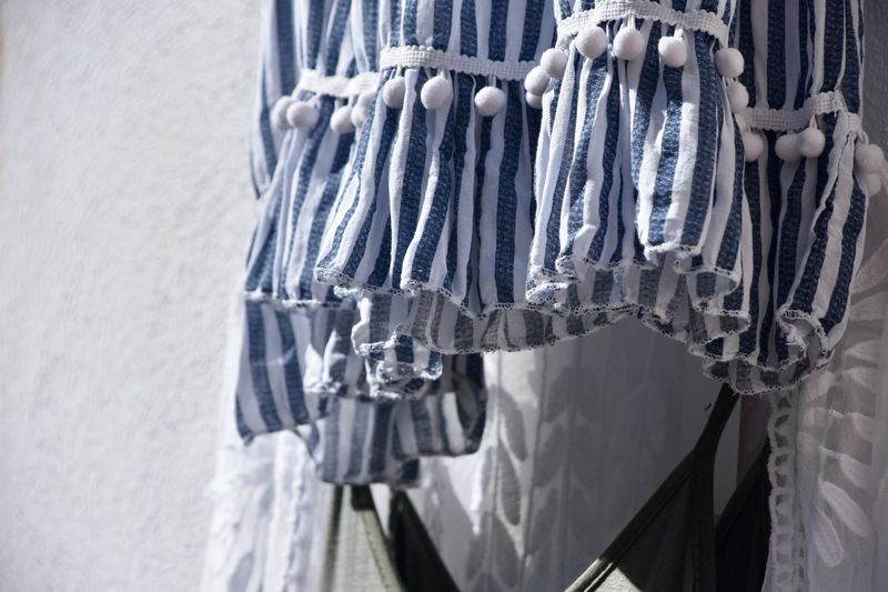 Summer Views Summertime Wind Hanging Close-up No People Clothing Retail  Choice Day Tied Up Textile Focus On Foreground