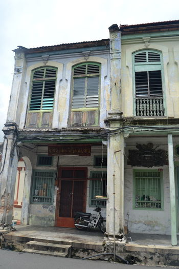 Colonial Abandoned Architecture Building Building Exterior Built Structure Colonial Architecture Day Desolate Malaysia Neighborhood Map No People Outdoors Travel Travel Destinations Window