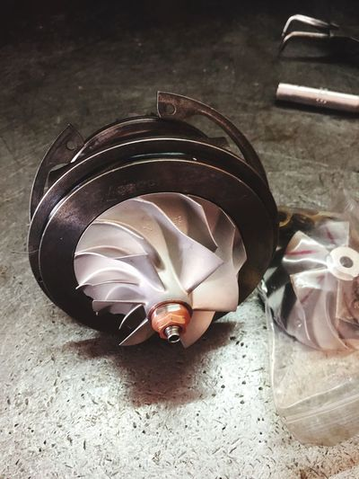 Turbo Turbo Charger Turbine Close-up Td04 Td04-19t Car Parts For Car Mechanical Parts Spin Pressure Pressurized Forced Induction Internal Combustion Engine Moving Parts The Week On EyeEm