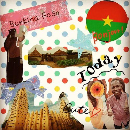 Burkina_Faso 意思是正人君子之國💑 一個有趣的體驗 認識了?非洲 Africa 也意外發現真正的王子prince ? 很想嘗試try 當地的localfood ?? 而且和我們一樣都是吃白飯? 但是一定要加sauce 在上面 ﹏﹏﹏﹏﹏﹏﹏﹏﹏﹏﹏﹏﹏ In short, I learned the new culture and it's a very special experience ,I really like it?