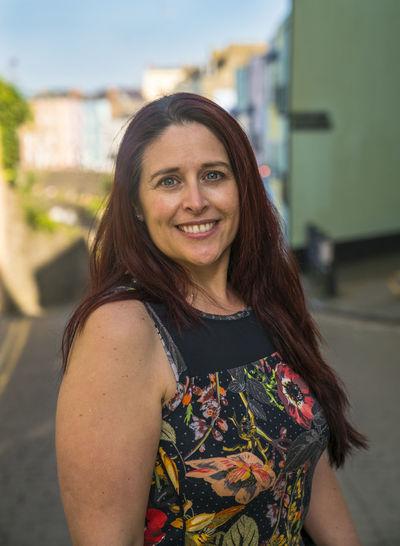 Blue Sky Colour Face Green House One Person Portrait Portrait Of A Woman Portrait Photography Portraits Pose Street Street Portrait Sunlight Sunshine Tenby Wales Woman The Portraitist - 2017 EyeEm Awards