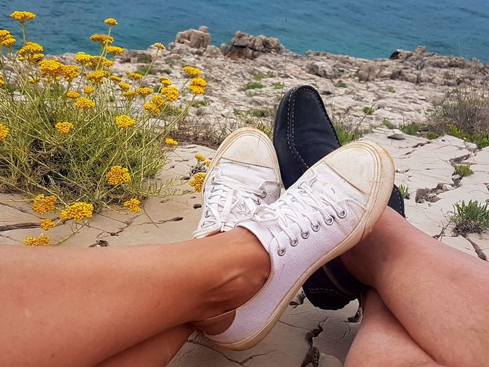 EyeEm Selects Low Section Human Leg Human Body Part Limb Beach Personal Perspective Sand Adult People Galaxys7picture Landscape Postcardsfromcroatia Croatia Summer Leisure Activity Lifestyles Relaxation Close-up Day Water Women Real People