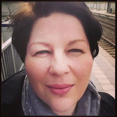 Frisch vom Friseur geht's zum shoppen.... Selfie Ichgradso Spring2014 April