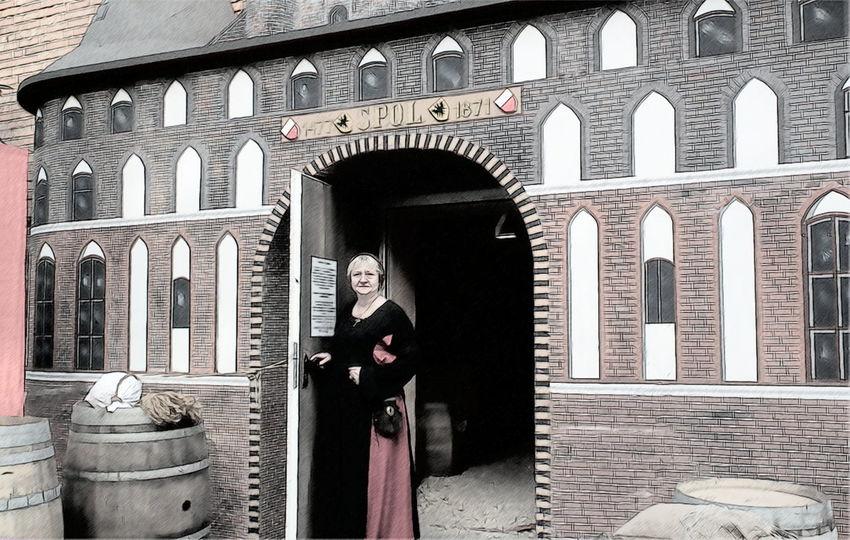 Hansekontor Architecture Medieval Mittelalter Ausstellung Hansestadt Hanse Hanseverein Hallischer Hanseverein