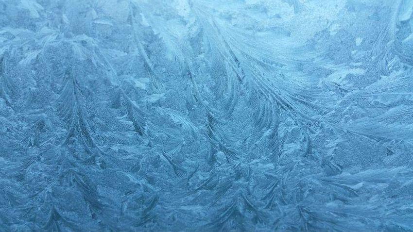 Glass Winter Ice Lacework