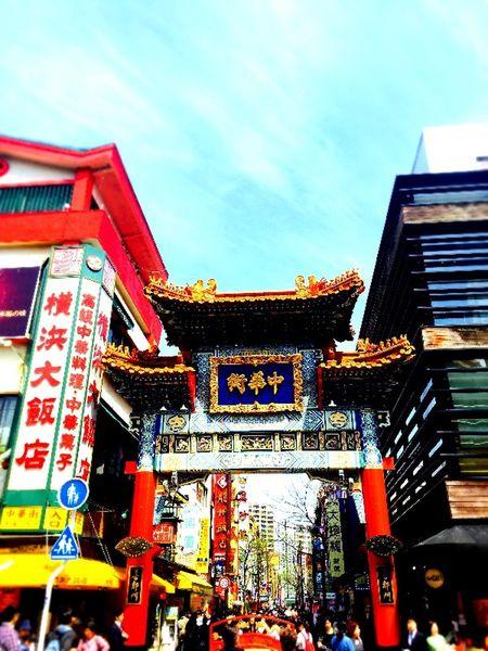 横浜に遠足で行ってきました。 中華街 Yokohama