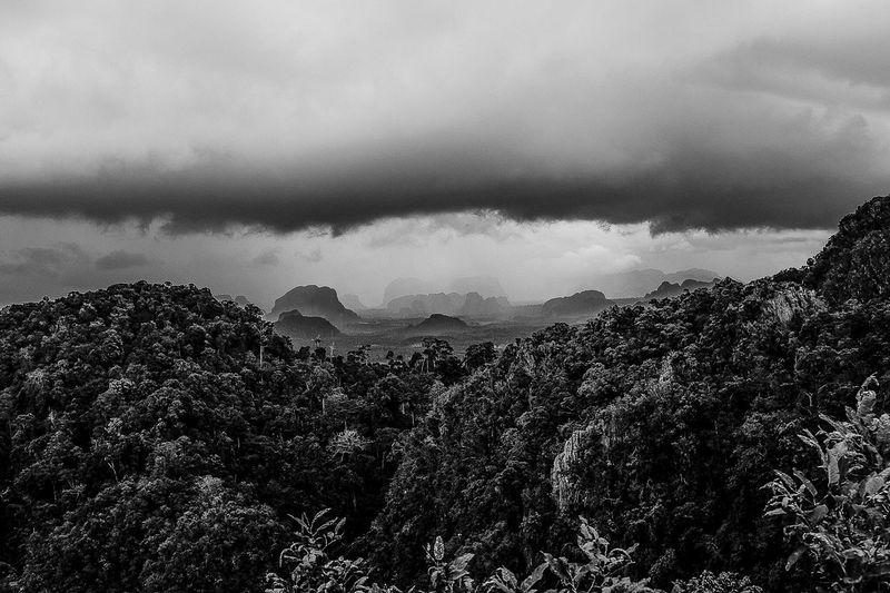 Krabi, Thailand Mountain Bnw