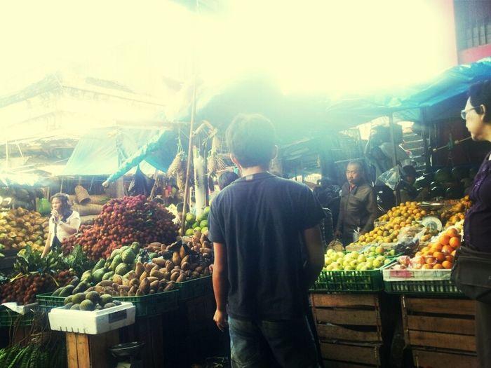 Morning Market Fresh Pasar  Bogor