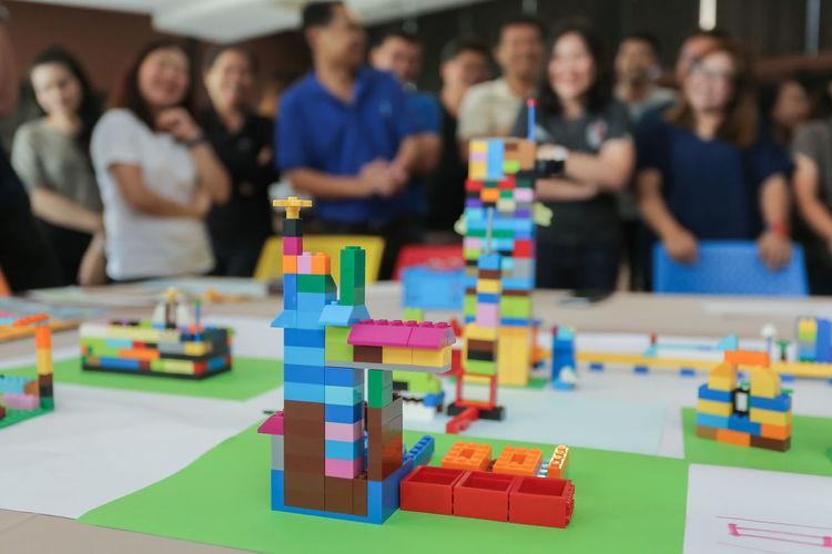 Lego blocks to