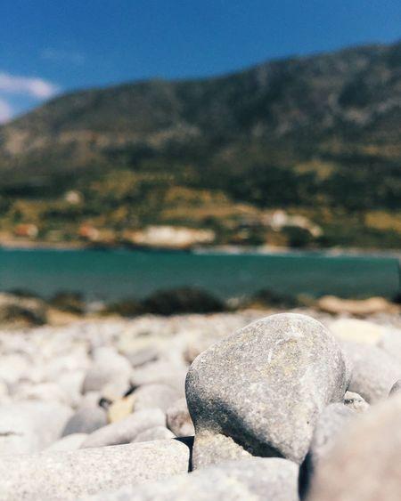 Surface level of rocks