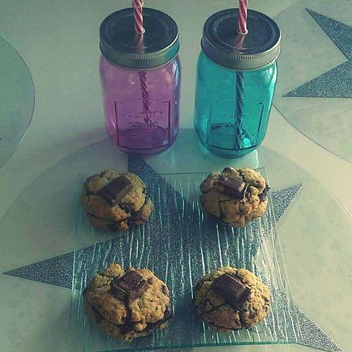 Cookies time 🍩🍫 Plaisirs Vacaciones Cookies Milkandcookies Miam