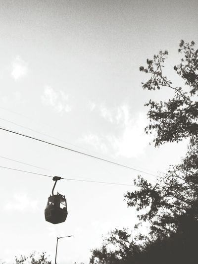 Rope way Blackandwhite EyeEm Best Shots - Black + White Ropeway