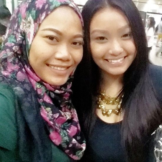 Geylang sipaku geylang with my dearest Busu Min! Girlstime  ?