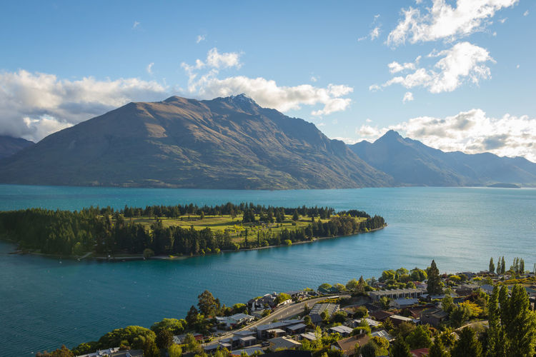 Aerial view of Queenstown. Check This Out EyeEm Best Shots Ladyphotographerofthemonth Landscape_Collection Queenstown
