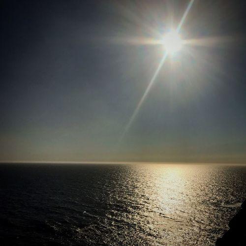 Horizon Over Water Sea Sky Water Horizon Scenics - Nature Sunlight Beauty In Nature Sun Nature Sunset Tranquility